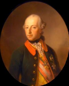 Portrait Josephs II von Georg Decker