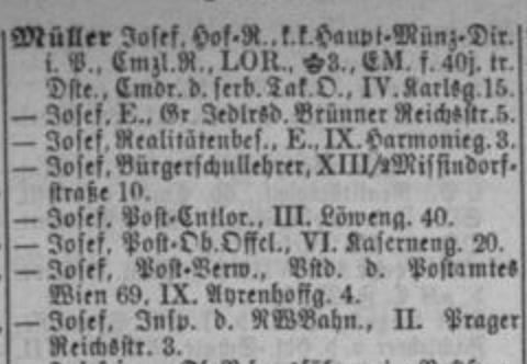 Lehmann Auszug Müller