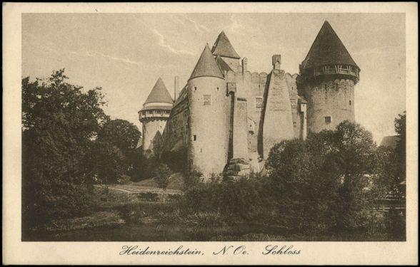 Heidenreichstein 1927, AKON der Österreichischen Nationalbibliothek, http://data.onb.ac.at/AKON/AK119_482