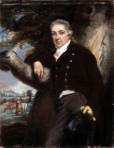 Edward Jenner Pastel by John Raphael Smith Wellcome L0026138